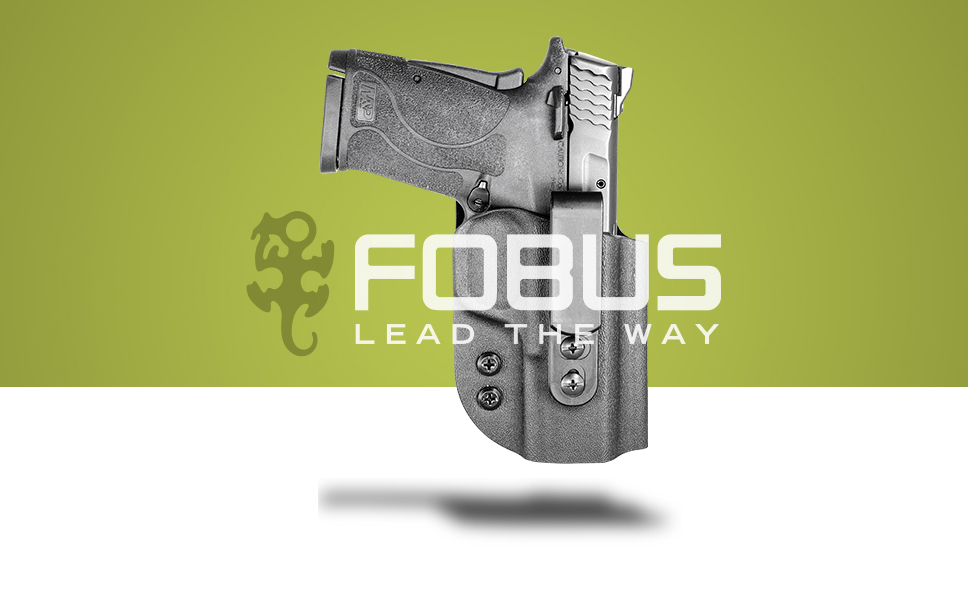 Fobus Extraction Series Concealed Carry Holster, Paddle or Belt Clip, Tuckable IWB and OWB, Right