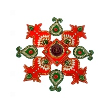 Matka Kalash Rangoli