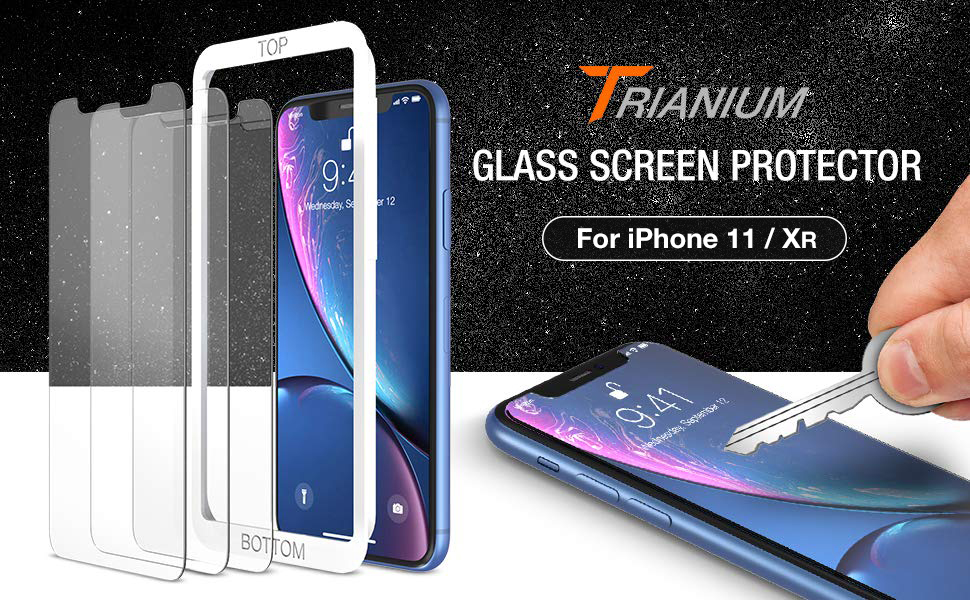 Trianium iPhone XR Screen Protector