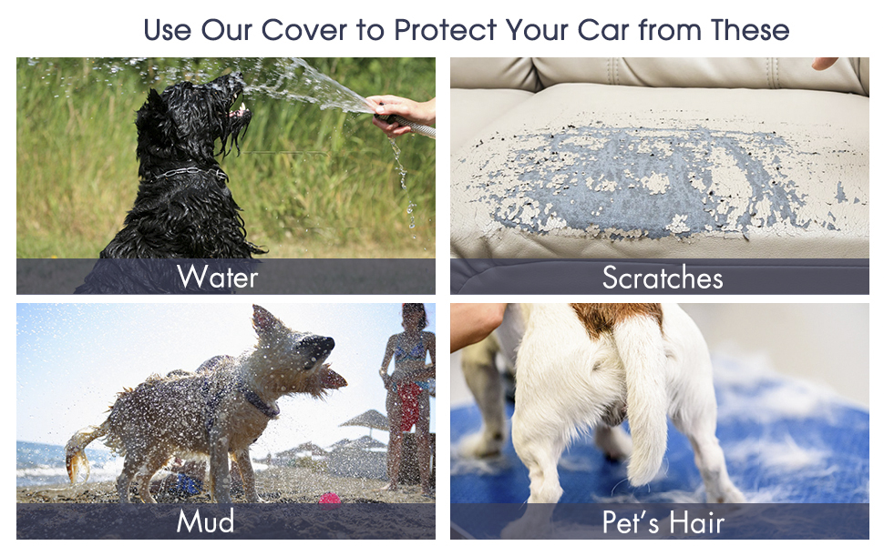 Protection against pet's hair and scratches