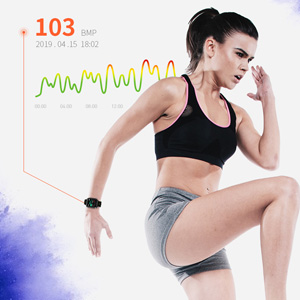24-Hour Heart Rate Monitor