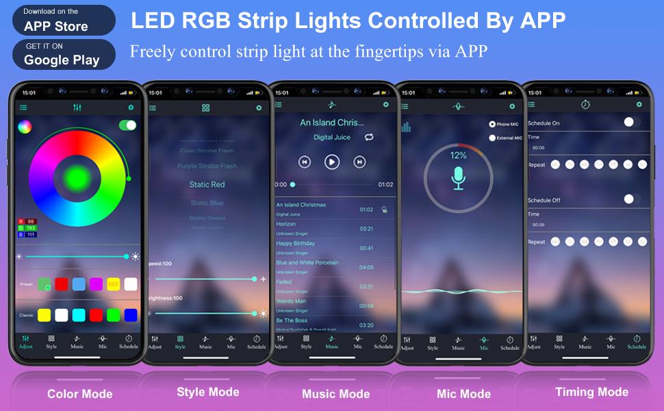 BIHRTC Music Sync APP Control