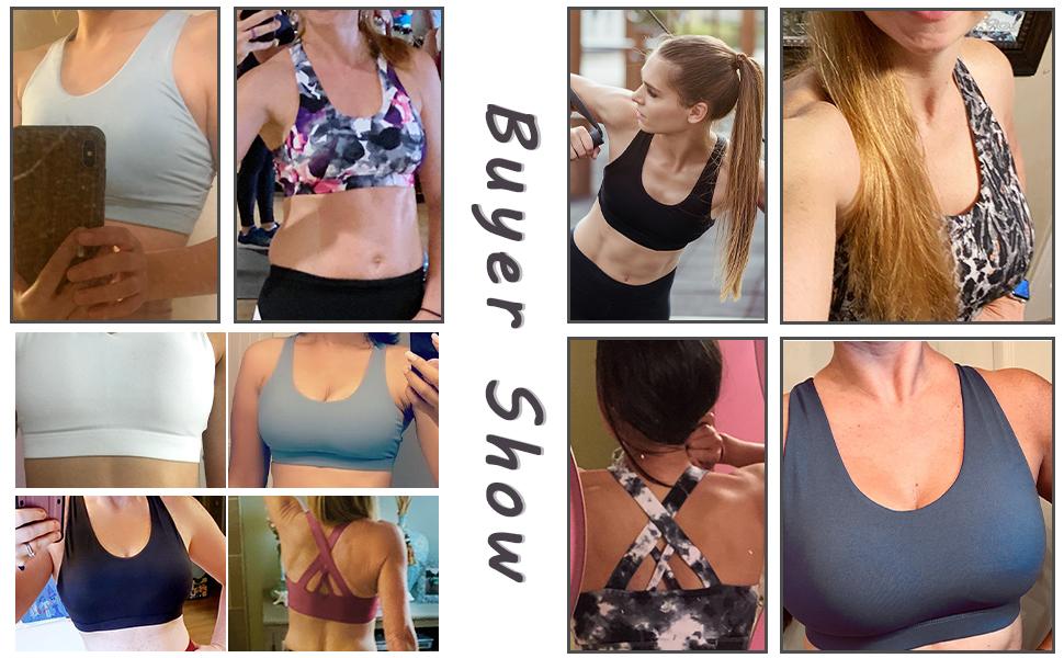 womens sports bras corssback yoga bra criss cross back sports bras for women comfy workout bras soft