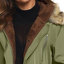 winter fleece coat jacket