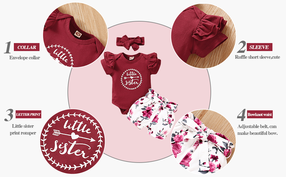 Baby Girl Summer Clothes