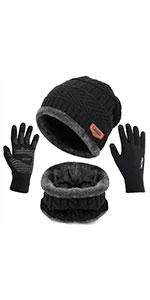 winter hats scarf  for men
