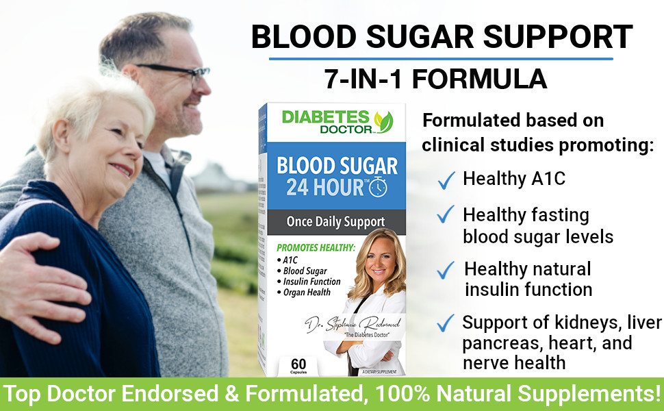 reduced a1c improved fasting blood sugars improved natural insulin function reduced 24 hour