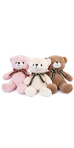 3 pack teddy bear