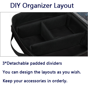 electronic organizer bag