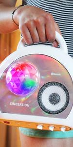 karaoke machine for adults kids karokee kareokee kareoke with lyrics display system bluetooth