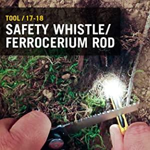 Safety Whistle, Ferrocerium Rod, Leatherman, Leatherman Signal, Multitool, Multipurpose Tool