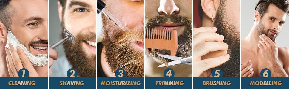 100% Natural & Organic for Beard Care