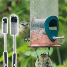 Bird feeder brush