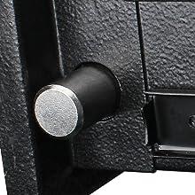 3 locking bolts for gun safe