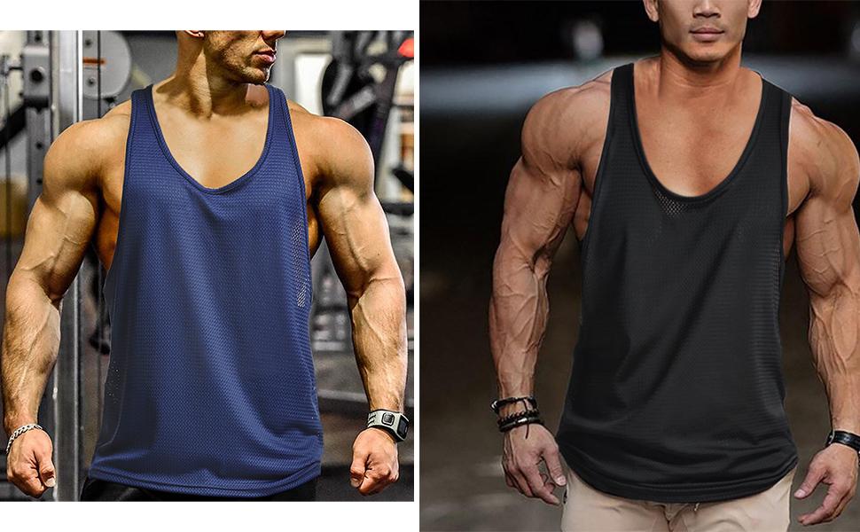 mens bodybuilding tank tops