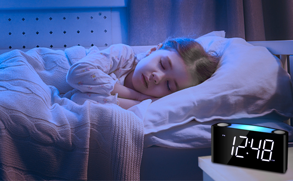 DMWSD Alarme Horloge /électronique color/ée Dimming Veilleuse Attaque sur Titan /équipe denqu/ête Jiyuu no Tsubasa Multi-Fonction daffichage num/érique R/éveil Exquisite Souvenirs