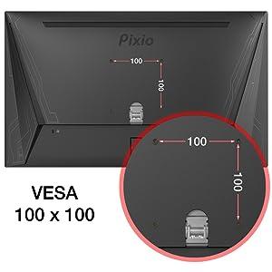 100x100mm VESA Compatible
