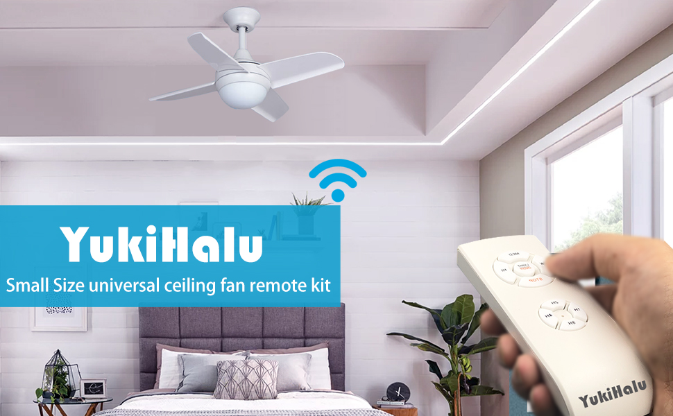 universal ceiling fan remote controller kit