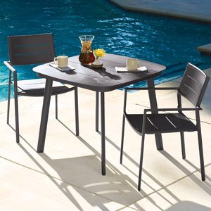 Oxford Garden Eiland Composite Cord Mocha And Carbon Club Chair Set Of 2 Home Kitchen