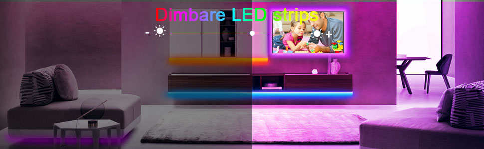 Dimbare LED strips