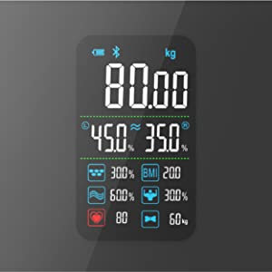 Active Era bathroom scales digital body weight scales smart app body fat BMI smartphone