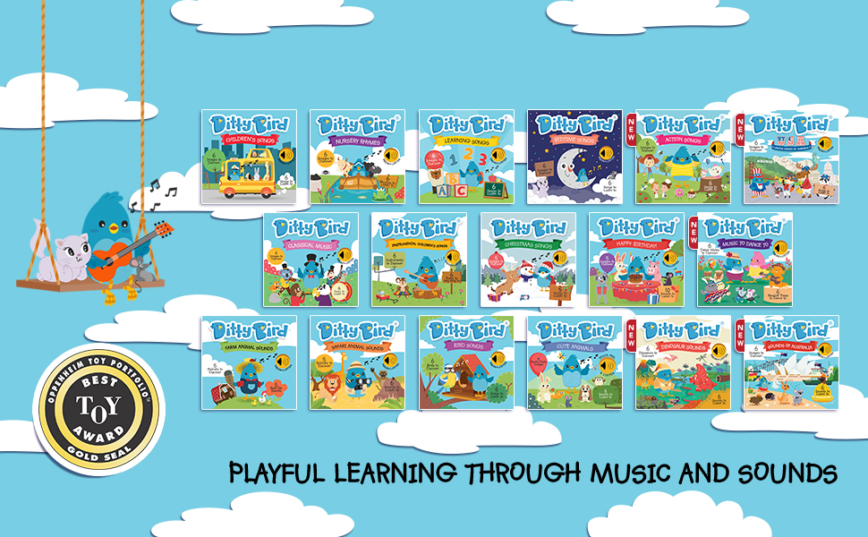 baby book, musical book for babies and toddlers, one year old boy girl toys