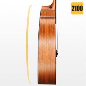 acoustic guitar cutaway