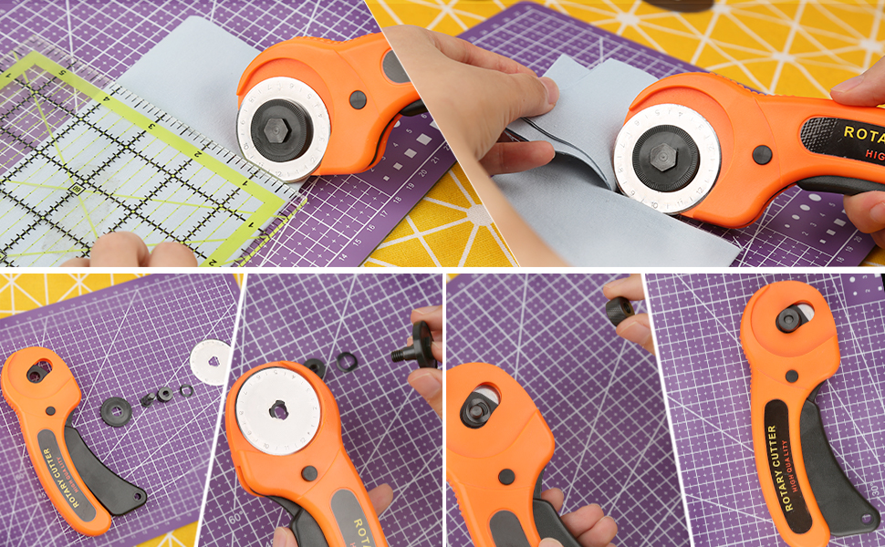 Basic and Professional Rotary Cutter Set
