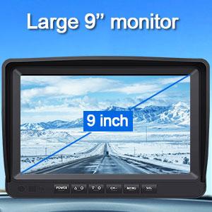 backup camera 9 monitor