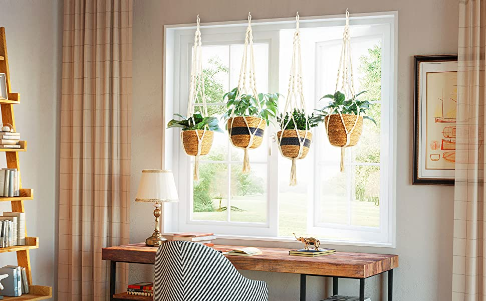 greenstell hanging planter basket flower pots