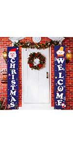 christmas porch banner