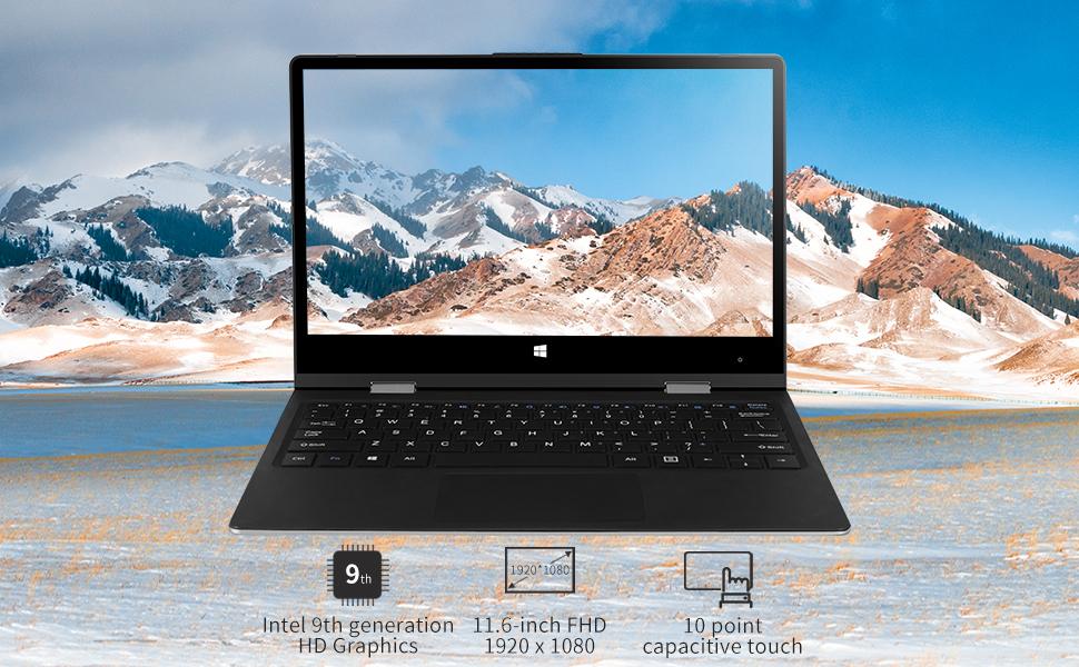 1  2 in 1 Laptop jumper x1 Windows 10 Laptop FHD Touchscreen Display Laptop Computer 11.6 inch 6GB RAM 128GB ROM de9e1e78 6f03 4e5f aae1 5ced6393b06e