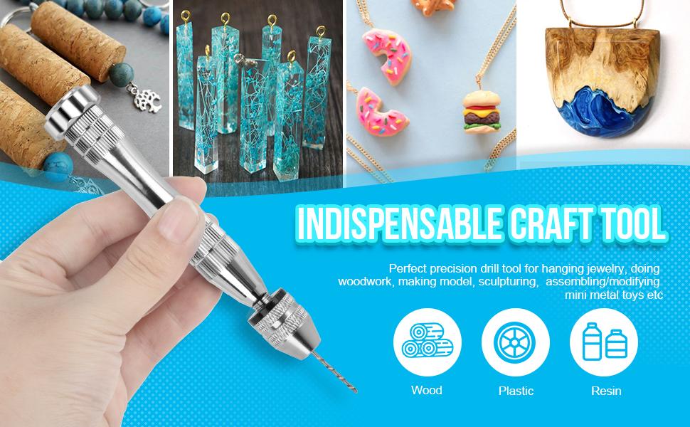DIY Crafts Hand Drill Epoxy Hand Drill Jewelry Hand Drill Resin Hand Drill