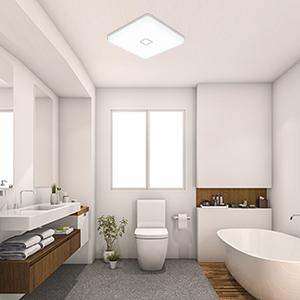 plafonnier led luminaire salle de bain lampe plafond cuisine chambre salon plafonniers led interieur