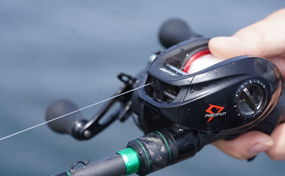 piscifun alijos saltwater fishing reels baitcasting