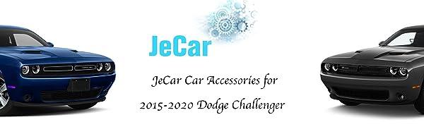 JeCar for 2015-2020 Dodge Challenger accessories make your car unique.