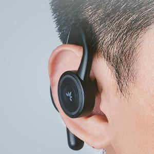 comfortable open ear headphones