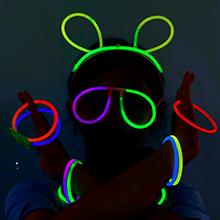 barre luminose  bagliore colorato bastoni  barre luminose con connettori glow stick bracciali