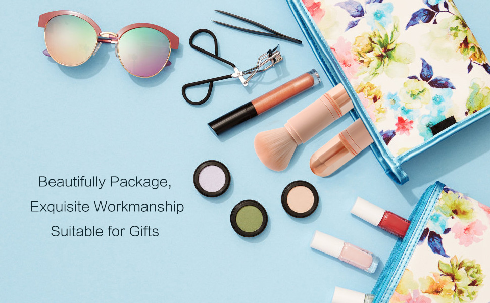 travel makeup brush, 4pcs makeup brushes set