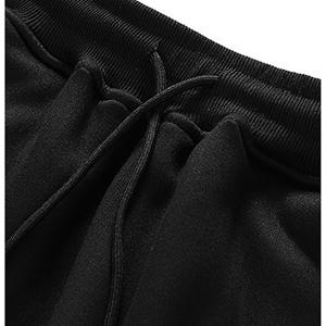 esstive Women's Ultra Soft Fleece Solid Cargo Jogger Pants