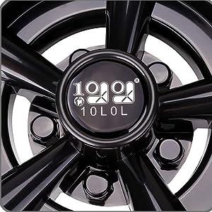10L0L Golf cart wheel huc caps