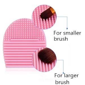 brush cleaner mat