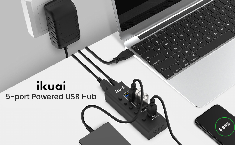 Prowered USB 3.0 Hub