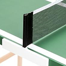 DISH TENNIS Mini Mesa de Ping Pong Natural marrón Oscuro El Roble ...