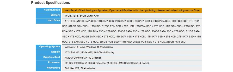 Amazon com: Dell Inspiron 17 7786 Home and Business Laptop-2-in-1