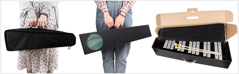 Glockenspiel with box