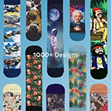 over 1000 designs