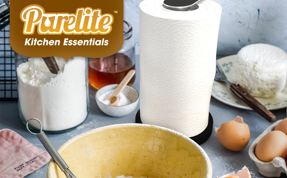 3 in 1 Paper Towel Holder by Purelite
