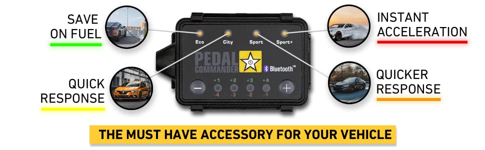 Fits All Trim Levels Pedal Commander Throttle Response Controller PC31 Bluetooth for Dodge Dakota 2007-2011