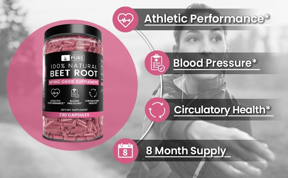 Athletic Performance, Blood Pressure, Circulatory Health
